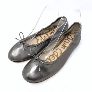 Sam Edelman NEW Felicia Pewter Ballet Flats